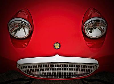 Austin Digital Art - Bug Eyed Sprite by Douglas Pittman