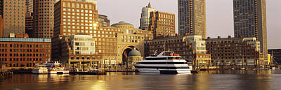 Buildings At The Waterfront, Boston Print by Panoramic Images