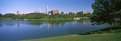Omaha Photograph - Buildings At The Waterfront, Omaha by Panoramic Images