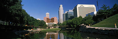 Omaha Photograph - Buildings At The Waterfront, Qwest by Panoramic Images
