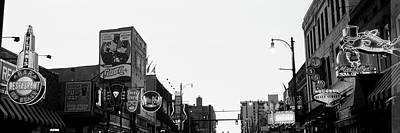 Buildings In A City At Dusk, Beale Print by Panoramic Images