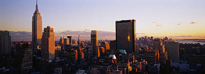 Buildings In A City, Manhattan, New Print by Panoramic Images
