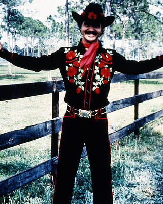 Burt Reynolds In Smokey And The Bandit  Print by Silver Screen