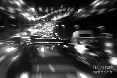 Busy Highway Print by Carlos Caetano