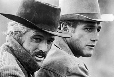 Butch Cassidy And The Sundance Kid Print by Georgia Fowler