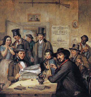 Beaver Painting - California Gold Rush, 1850 by Granger