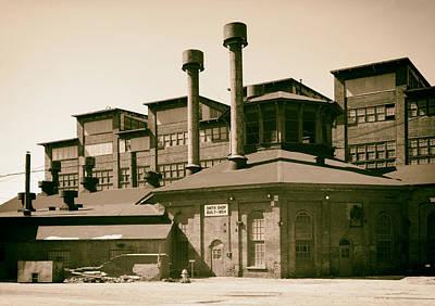 Cambria Photograph - Cambria Iron Company - Johnstown Pennsylvania 1986 by Mountain Dreams
