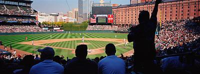 Camden Yards Baseball Game Baltimore Print by Panoramic Images