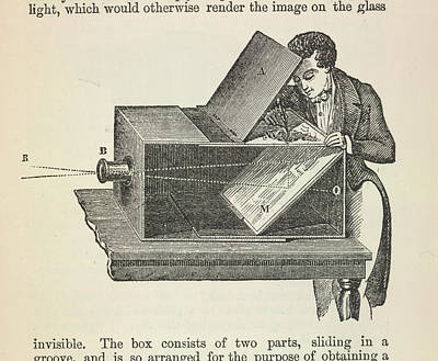 Reprint Photograph - Camera Obscura by British Library