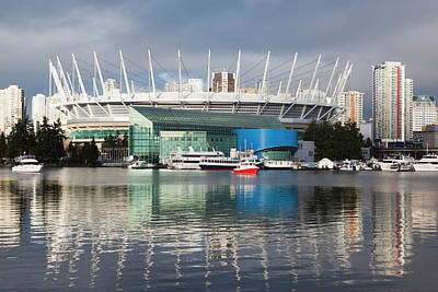 Canadian Sports Photograph - Canada, British Columbia, Vancouver, Bc by Walter Bibikow