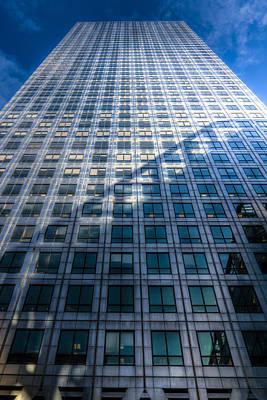 London Tube Photograph - Canary Wharf Tower by David Pyatt