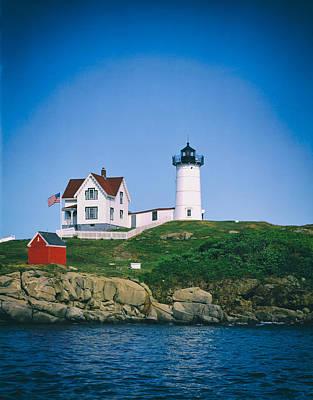 Cape Neddick Light Station Maine Print by Mountain Dreams