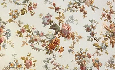 Carpet Design Print by English School