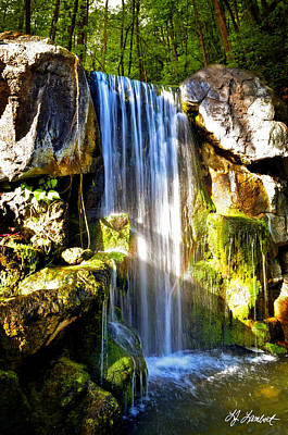 Landscape Photograph - Cascading Beauty by Lj Lambert