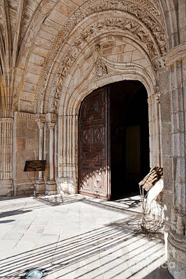 City Photograph - Cathedral Portal by Jose Elias - Sofia Pereira