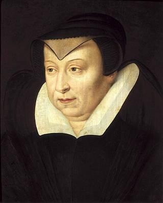 Catherine De Medicis 1519-1589. Queen Print by Everett