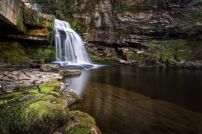 Knaresborough Photograph - Cauldron Falls West Burton by Chris Frost