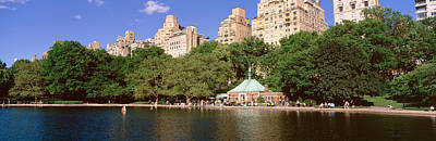 Enjoyment Photograph - Central Park, Nyc, New York City, New by Panoramic Images