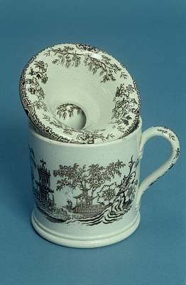 Nineteenth Century Photograph - Ceramic Spittoon by Science Photo Library