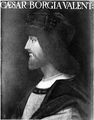 Borgia Painting - Cesare Borgia (c1475-1507) by Granger