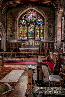 Chapel Window Print by Adrian Evans
