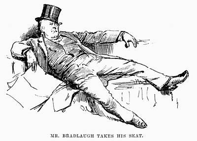 1884 Drawing - Charles Bradlaugh (1833-1891) by Granger