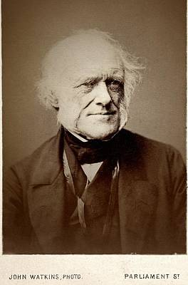 Charles Lyell Photograph - Charles Lyell, British Geologist by Paul D. Stewart