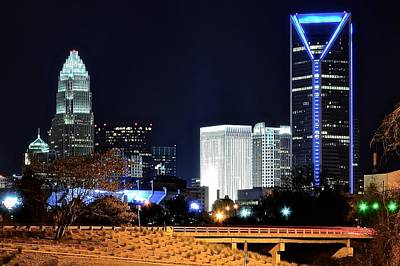 Charlotte Towers Print by Frozen in Time Fine Art Photography
