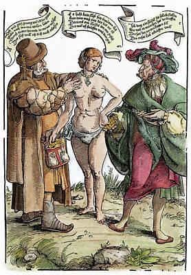 Chastity Belt Painting - Chastity Belt, C1540 by Granger