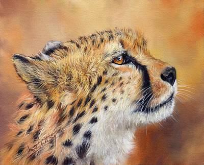 Cheetah Print by David Stribbling
