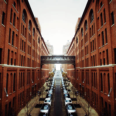 New York City Digital Art - Chelsea Symmetry by Natasha Marco