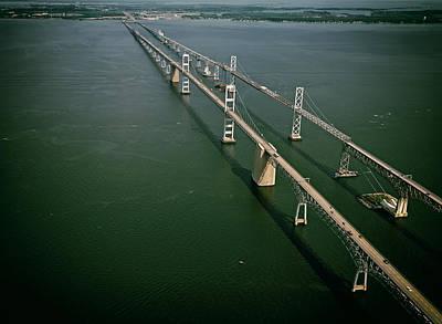 Chesapeake Bay Bridge Print by Mountain Dreams