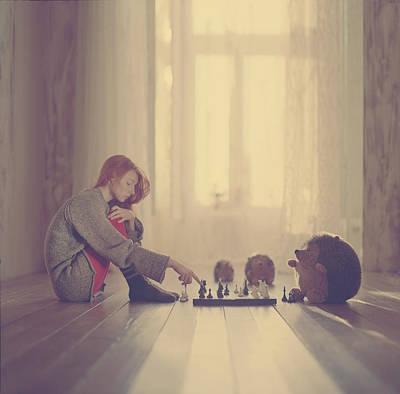 Chess Photograph - Chess by Anka Zhuravleva