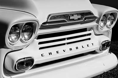 Chevrolet Apache 31 Fleetline Pickup Truck Print by Jill Reger