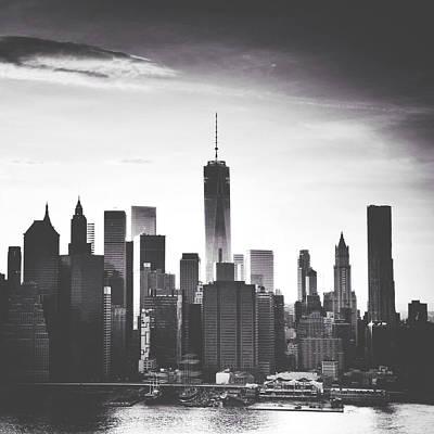 New World Photograph - Chiaroscuro City by Natasha Marco
