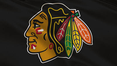 Hockey Sweaters Photograph - Chicago Blackhawks Uniform by Joe Hamilton