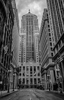 Chicago Board Of Trade Print by Mike Burgquist