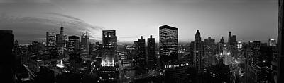 Chicago, Illinois, Usa Print by Panoramic Images