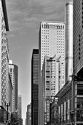 Commercial Photograph - Chicago State Street - That Great Street by Christine Till