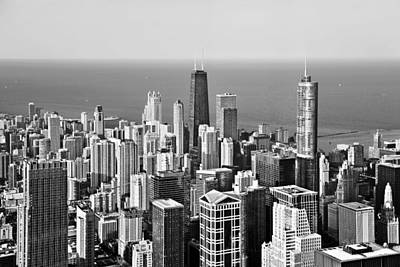 Popular Photograph - Chicago - That Famous Skyline by Christine Till