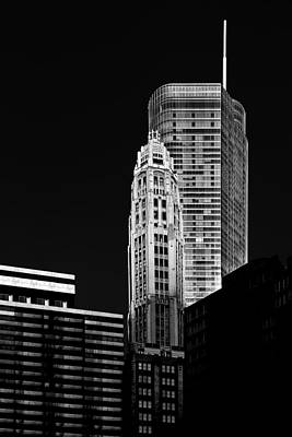 Chicago - Trump International Hotel And Tower Print by Christine Till