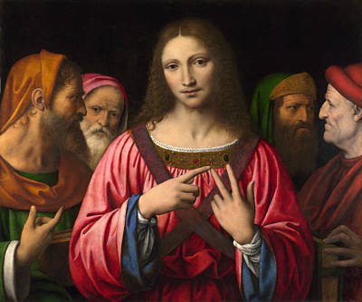 New Testament Painting - Christ Among The Doctors by Celestial Images