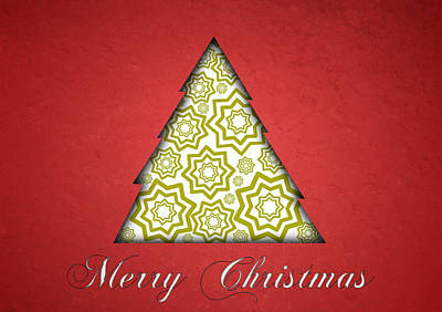 Christmas Cards Digital Art - Christmas Card 19 by Martin Capek