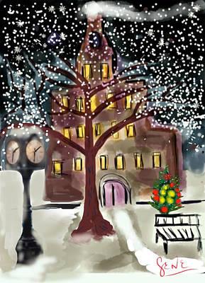 Christmas In July Original by Gene Derow