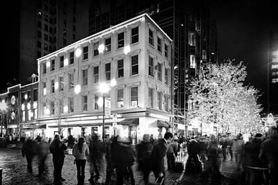 Christmas In Pittsburgh Print by Emmanuel Panagiotakis