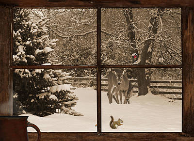 Christmas Morning Print by Kelly Nelson