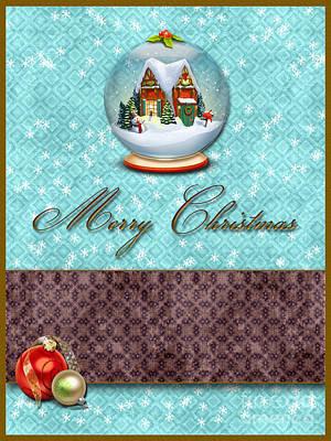 Christmas Print by Nina Ficur Feenan