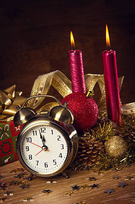 Celebrate Photograph - Christmas Still-life by Carlos Caetano