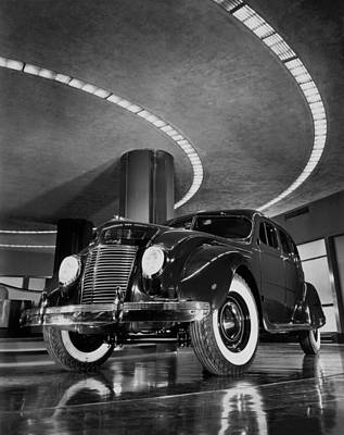 Single Object Photograph - Chrysler Building Showroom by Underwood Archives