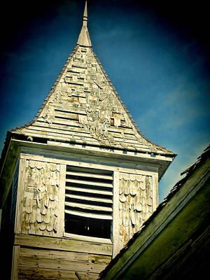 South Dakota Photograph - Church Steeple by Cathy Anderson